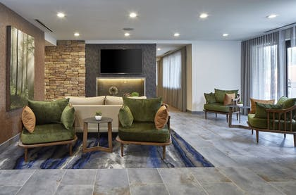 Interior Detail | Fairfield Inn & Suites by Marriott Albany Airport