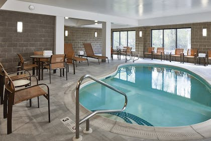 Indoor Pool | Fairfield Inn & Suites by Marriott Albany Airport