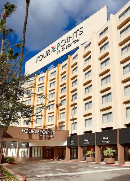 Hotel Front | Four Points by Sheraton Los Angeles International Airport
