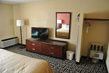 In-Room Amenity | Quality Inn & Suites Mayo Clinic Area