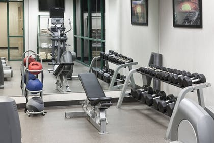 Fitness Facility | Courtyard by Marriott Omaha Downtown