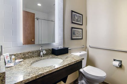 Bathroom | Comfort Inn St. Robert / Fort Leonard Wood