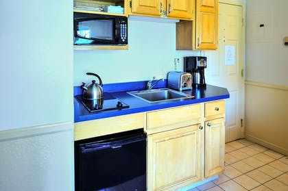 In-Room Kitchenette   The Historic Crags Lodge by Diamond Resorts