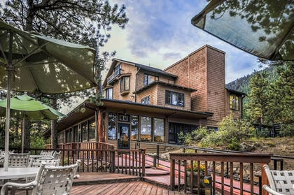Terrace/Patio   The Historic Crags Lodge by Diamond Resorts