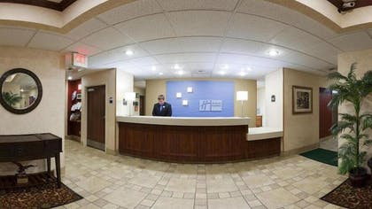 Lobby | Holiday Inn Express Hotel Dayton-Huber Heights