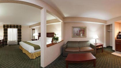 Living Area | Holiday Inn Express Hotel Dayton-Huber Heights
