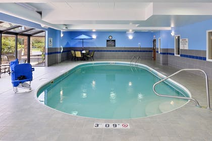 Pool | Holiday Inn Express Hotel Dayton-Huber Heights