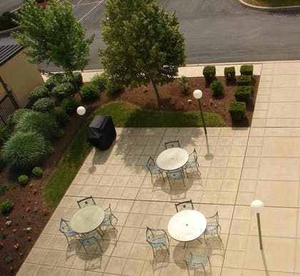 Terrace/Patio | Hampton Inn Manheim
