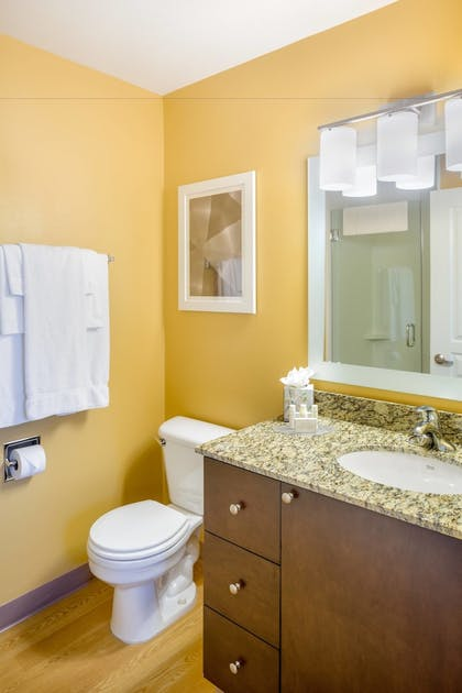 Bathroom | TownePlace Suites by Marriott Portland Hillsboro