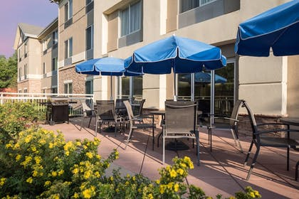 Terrace/Patio | Fairfield Inn & Suites by Marriott Fort Collins/Loveland