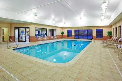 Pool | Holiday Inn Express Hotel & Suites Cleveland-Streetsboro