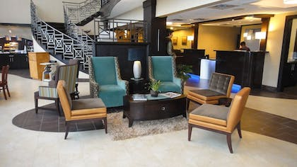 Lobby | Holiday Inn Express & Suites Houston North Intercontinental