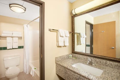 Bathroom | AmericInn by Wyndham Kearney