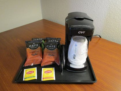 In-Room Coffee | Ramada by Wyndham Platte City KCI Airport