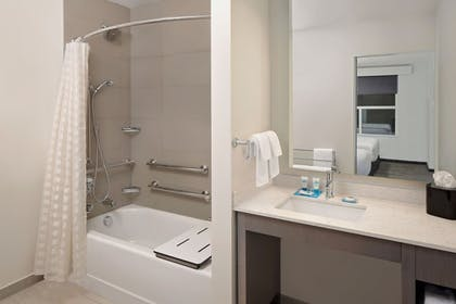 Bathroom | HYATT house San Diego/Sorrento Mesa