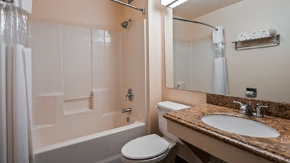Bathroom | SureStay Plus Hotel by Best Western Rocklin