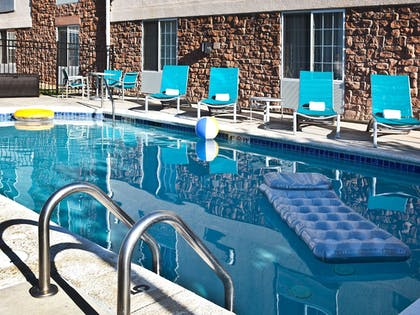 Outdoor Pool | TownePlace Suites Colorado Springs Garden of the Gods