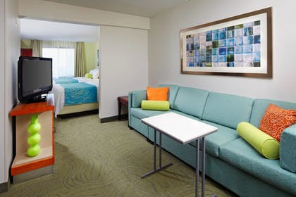 Guestroom   SpringHill Suites by Marriott Pittsburgh Washington