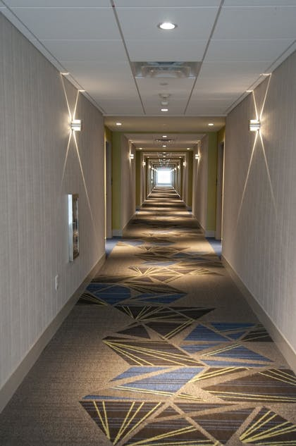 Hallway | Holiday Inn Express & Suites Johnstown