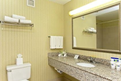 Bathroom | Holiday Inn Express Winchester South-Stephens City