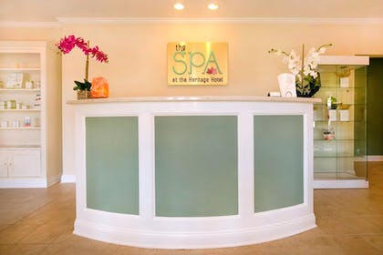 Spa Reception | Heritage Hotel, Golf, Spa & Conference Center, BW Premier Collection