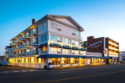 Hotel Front - Evening/Night | Ashworth by the Sea