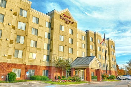 Hotel Entrance | Residence Inn by Marriott Fort Worth Alliance Airport