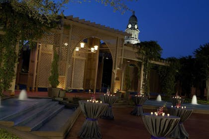 Outdoor Banquet Area | The Worthington Renaissance Fort Worth Hotel
