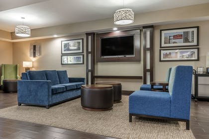 Lobby Sitting Area | Comfort Suites Downtown Sacramento