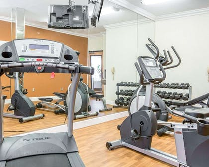 Fitness Facility | Comfort Suites Downtown Sacramento