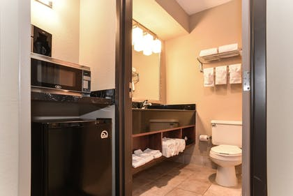 Bathroom | Comfort Inn & Suites Kansas City - Northeast