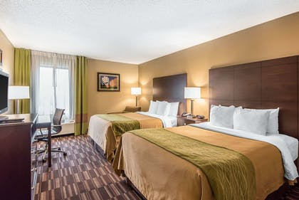 Room | Comfort Inn & Suites Kansas City - Northeast