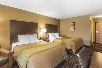 Guestroom | Comfort Inn & Suites Kansas City - Northeast