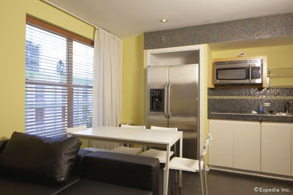 In-Room Kitchen | The Mercury All-Suites Hotel