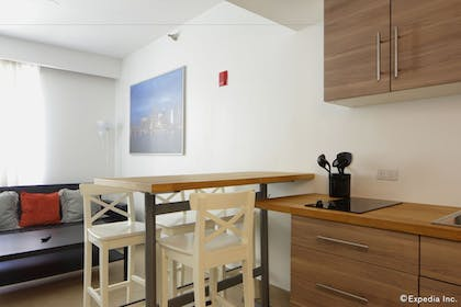 In-Room Kitchenette | The Mercury All-Suites Hotel