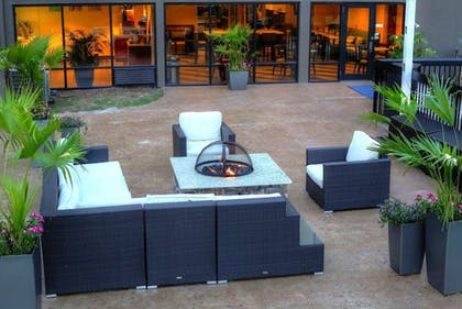 Terrace/Patio | Holiday Inn Express Hotel & Suites Blythewood