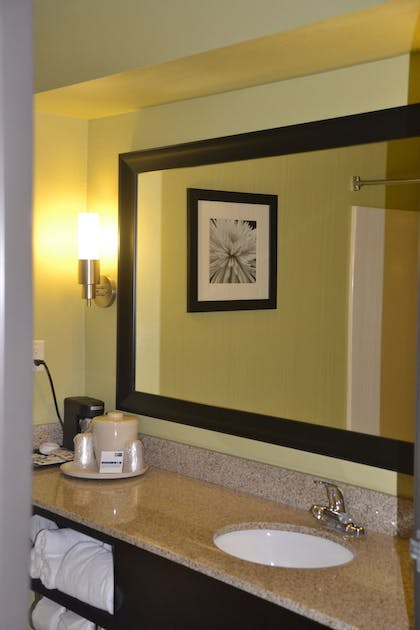 In-Room Amenity | Holiday Inn Express & Suites Bloomington - Normal
