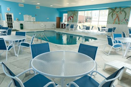 Pool | Holiday Inn Express & Suites Bloomington - Normal