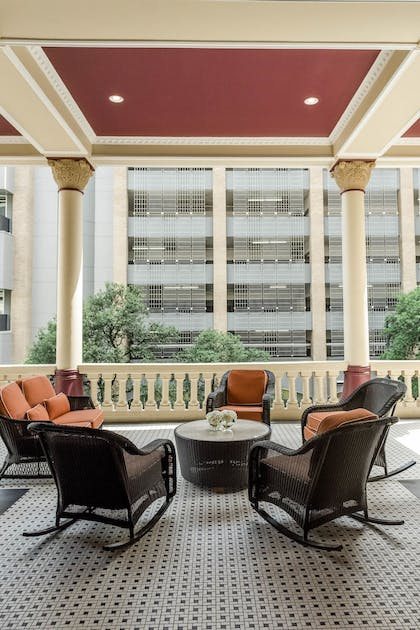 Terrace/Patio | The Driskill - in the Unbound Collection by Hyatt