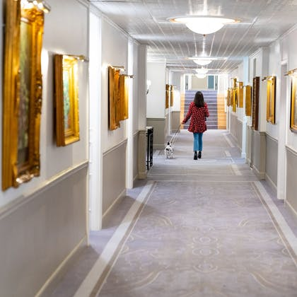 Hallway | The Driskill - in the Unbound Collection by Hyatt