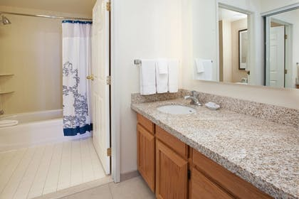 Bathroom | Residence Inn by Marriott Salt Lake City Airport