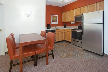 In-Room Kitchen | Residence Inn by Marriott Salt Lake City Airport