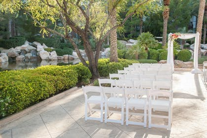 Outdoor Wedding Area | JW Marriott Las Vegas Resort & Spa