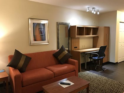 Living Area |  | Hawthorn Suites by Wyndham Louisville North