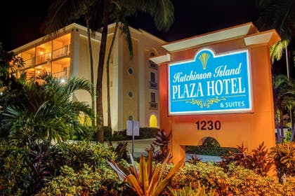 Hotel Front - Evening/Night | Hutchinson Island Plaza Hotel and Suites