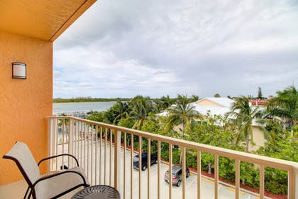 Balcony View | Hutchinson Island Plaza Hotel and Suites