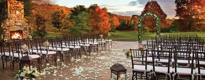 Outdoor Wedding Area | The Omni Grove Park Inn