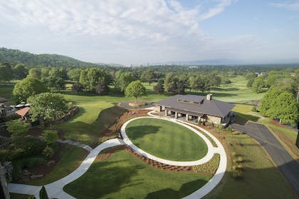 Aerial View | The Omni Grove Park Inn