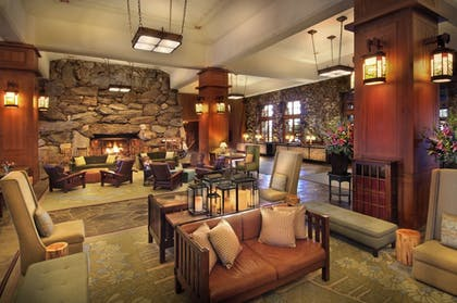 Lobby Sitting Area | The Omni Grove Park Inn