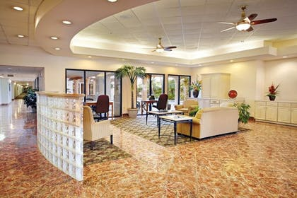 Lobby Sitting Area | The Inn at South Padre